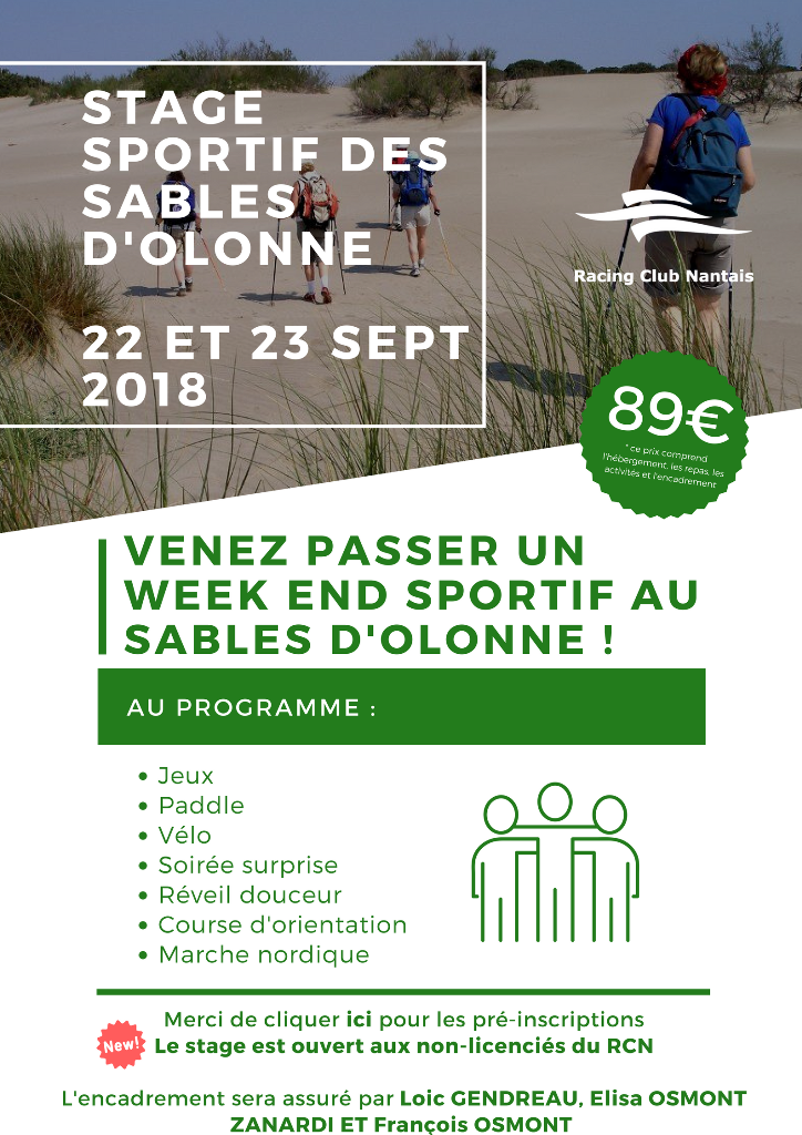 weekend sables olonnes