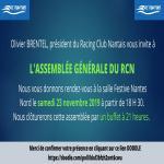 Invitation à l'assemblée générale du RCN !