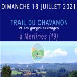 TRAIL DU CHAVANON à MERLINES 19